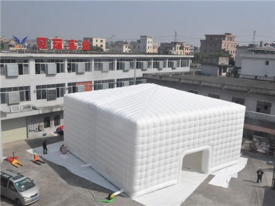 Custom white cube inflatable tent China manufacturers BY-IT-060